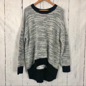 Lou & Grey Eyelash Sweater L